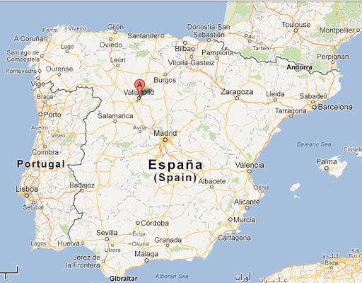 segovia espanha mapa Mestrado em Valladolid, na Espanha: mando notícias do lado de lá segovia espanha mapa