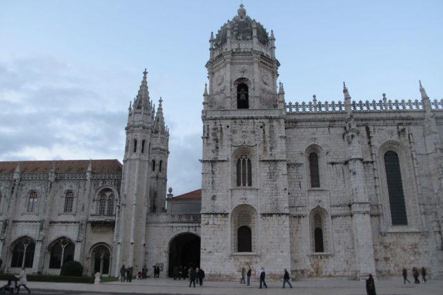 o Mosteiro não coube na foto ;)