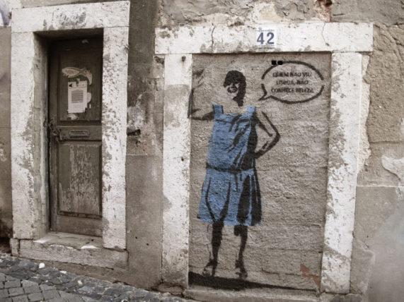 Lisboa já é famosa pelos grafitti nas ruas