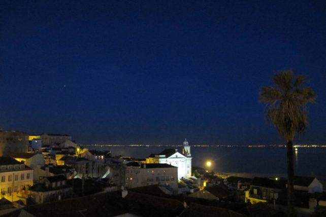Vista do Miradouro de Santa Luzia