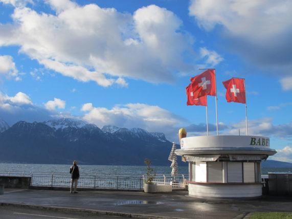 Nenhuma dúvida de que estamos na Suíça ;)