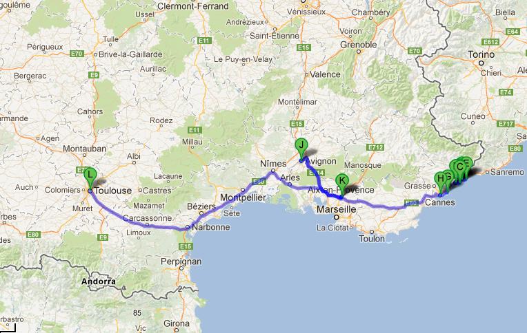 e depois passeamos pela França <3