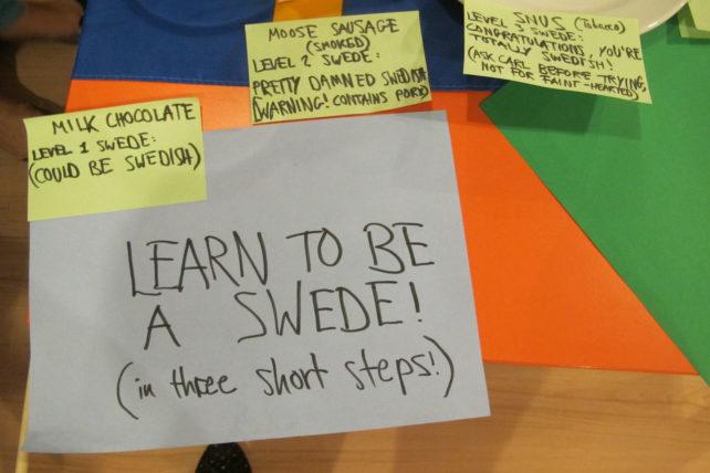 Cultural market: três passos para tornar-se um sueco