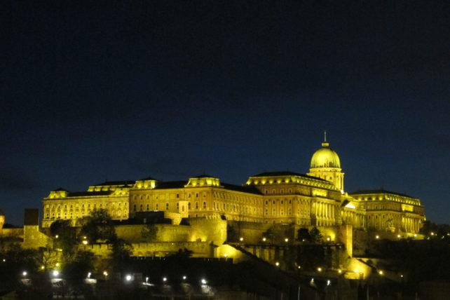 Castelo visto desde Pest