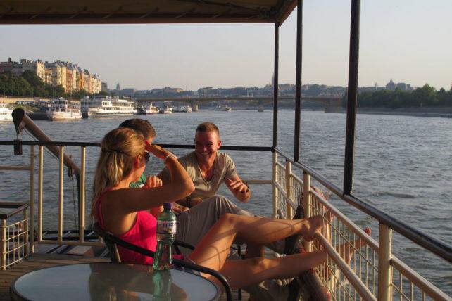 Passeio de barco :)