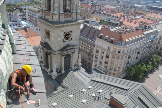 Da cúpula da Basílica de São Estêvão