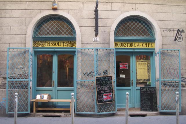 A fachada da Massolit