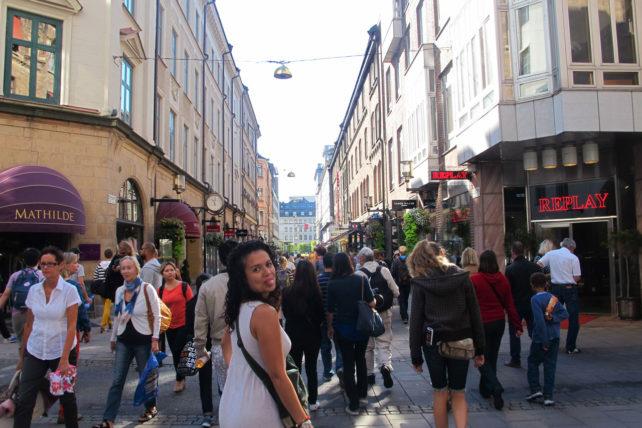 Free walking tour pelo centro com minha amiga Paula ;)