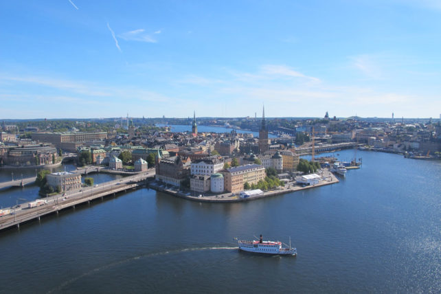 Estocolmo, sua feia