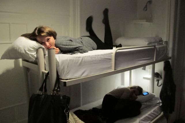 Não ha lugar como um quarto de albergue ;)