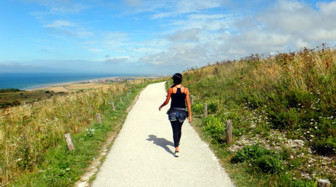 Aline viajou por três meses sem gastar nada. Foto: Acervo Pessoal/Aline Campbell