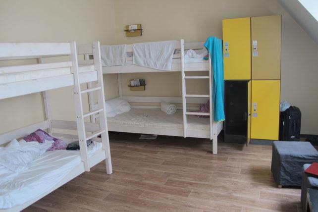 Meu quarto (com a baguncinha da galera que chegou antes de mim)