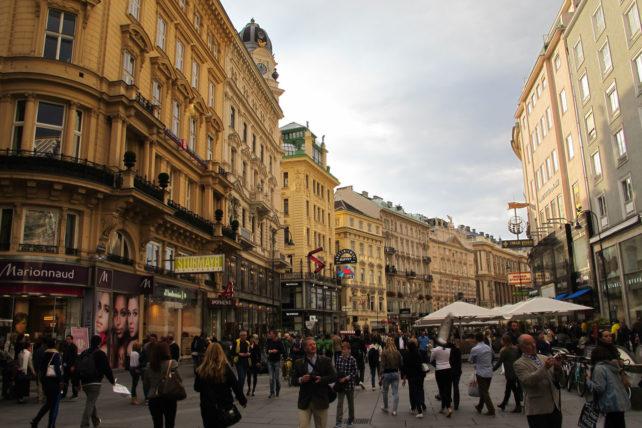 Graben, rua de pedestres badalada