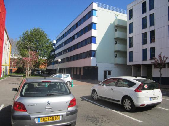 Meu prédio na residência Jussieu