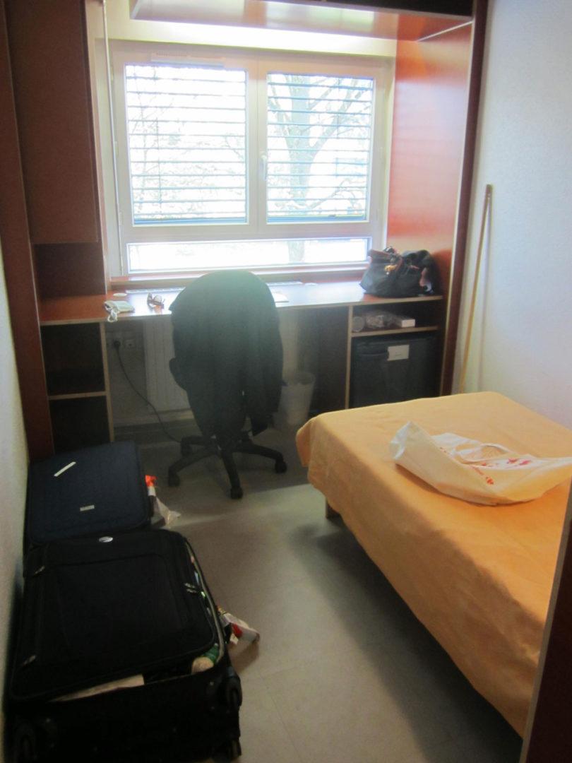 Meu quarto assim que eu cheguei