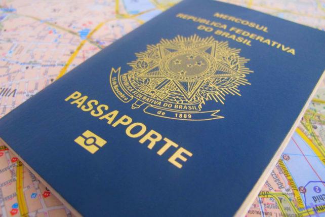 Meu passaporte, minha vida <3
