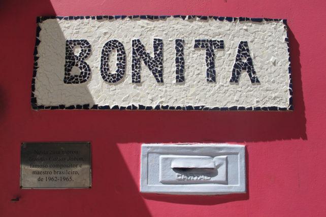 Aqui morou Tom Jobim <3