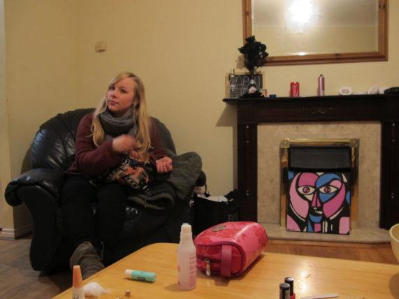 Alemã simpática que tava no hostel sozinha e foi incluída no nosso grupinho em Dublin :)
